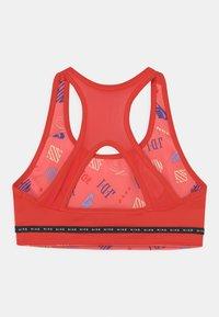 Nike Performance - Sports bra - chile red/black/white - 1