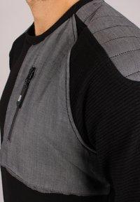 Gabbiano - Long sleeved top - black - 1