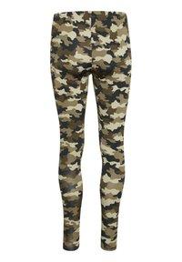 Culture - CUSEMIRA  - Leggings - Trousers - brown camouflage - 5
