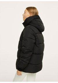 Mango - STEPP-ANORAK MIT KAPUZE - Winter coat - schwarz - 2