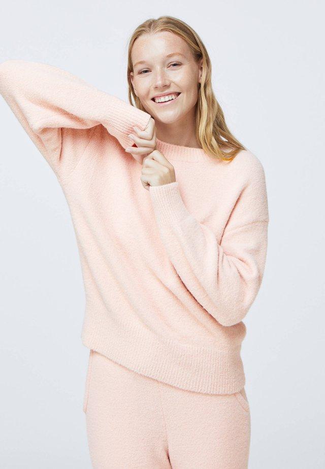 SOFT TOUCH FLUFFY - Pyjamashirt - rose