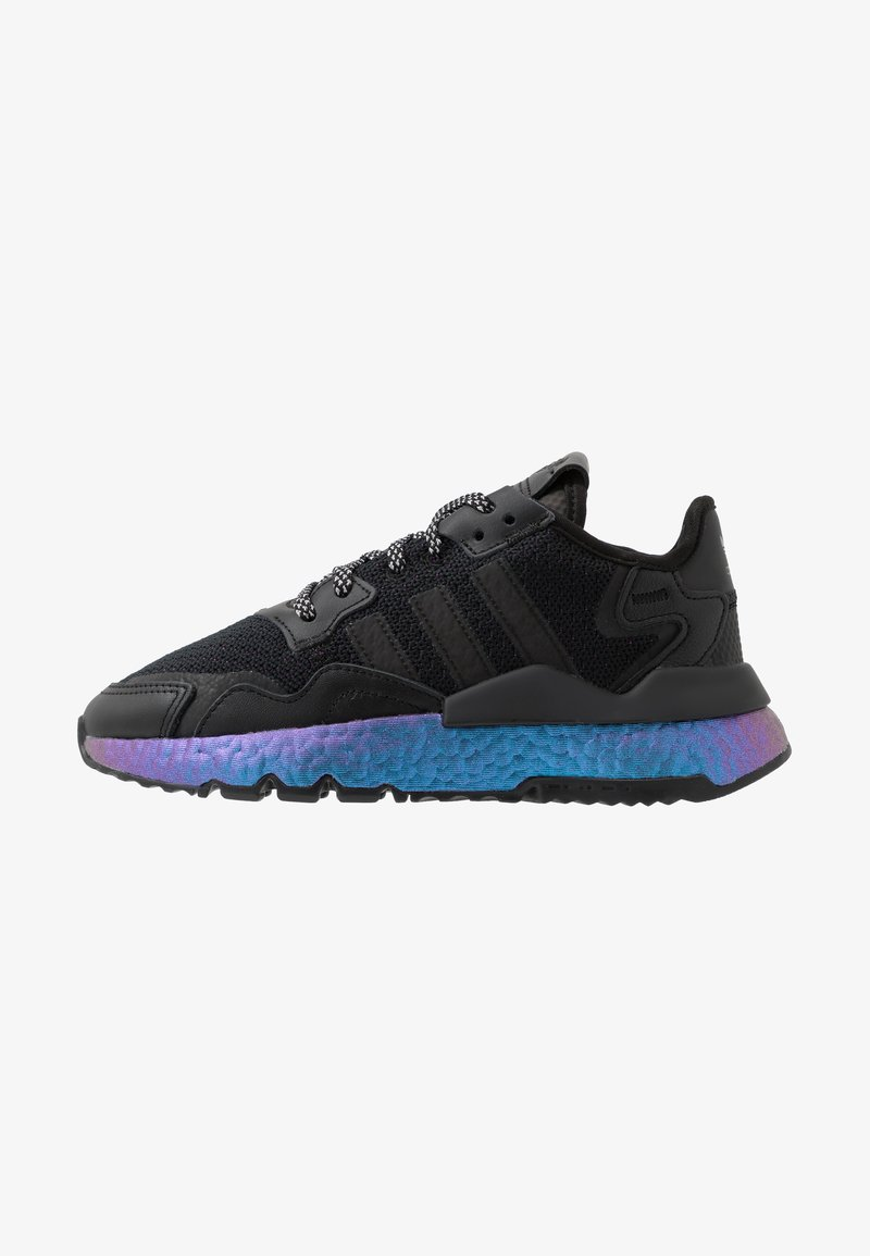adidas Originals - NITE JOGGER - Matalavartiset tennarit - core black/carbon