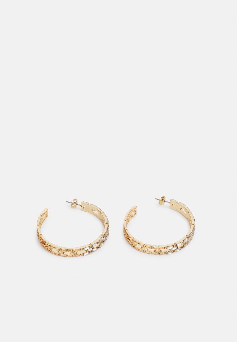 Pieces - PCPANILLE HOOP EARRINGS - Earrings - gold-coloured
