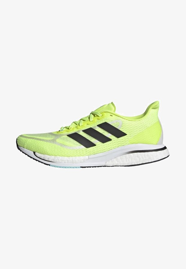 SUPERNOVA + BOOST BOUNCE PRIMEGREEN RUNNING REGULAR SHOES - Stabilty running shoes - yellow