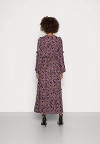 Thought - TABITHA FRILL MAXI DRESS - Maxi dress - amethyst grey - 2