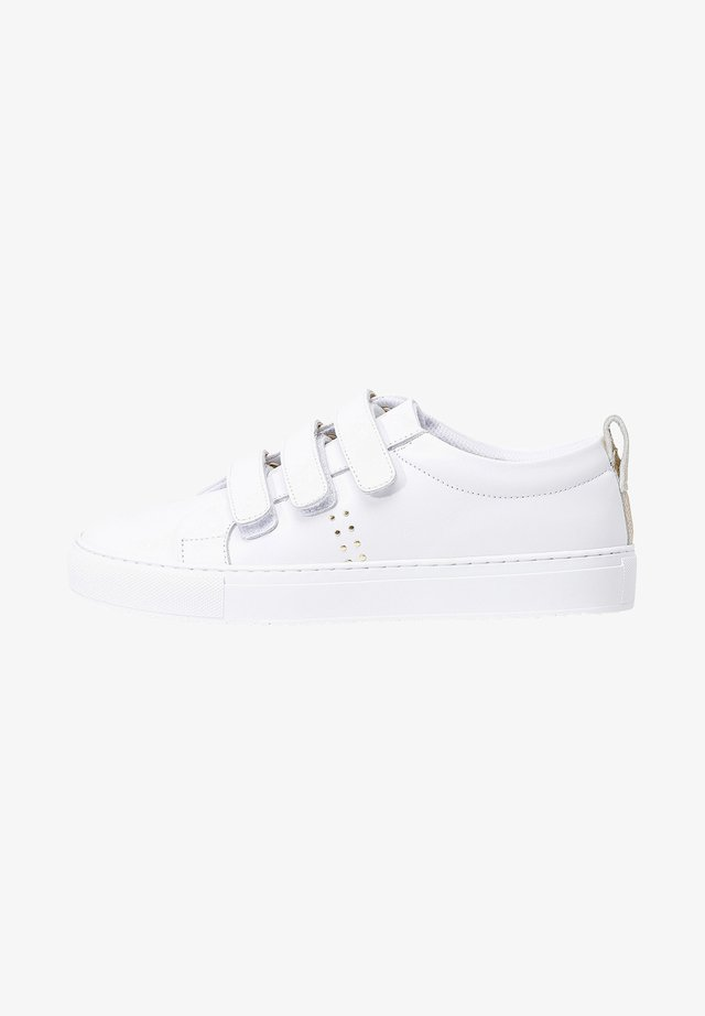 TRAINERS SCRATCH - Baskets basses - white