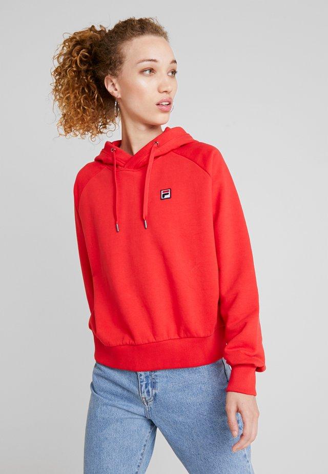 FLORESHA HOODY - Jersey con capucha - true red