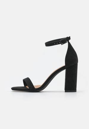 SAN SQUARE TOE - Sandales - black
