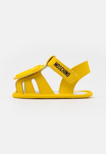 UNISEX - První boty - yellow