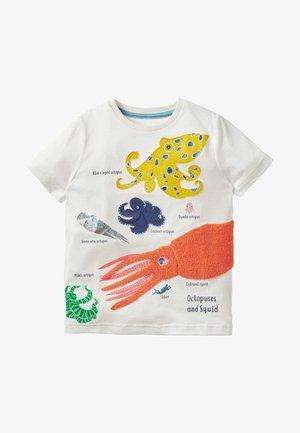 Print T-shirt - naturweiß, oktopus