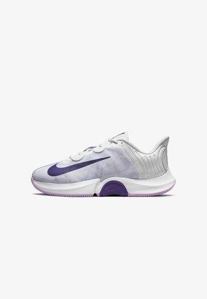 COURT AIR ZOOM TURBO - Tennisschoenen voor alle ondergronden - photon dust/fuchsia glow/white/court purple