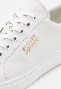 Steffen Schraut - BASE - Sneakers laag - white - 6