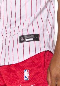 Nike Performance - MLB PHILADELPHIA PHILLIES OFFICIAL REPLICA HOME - Club wear - white/scarlet - 5