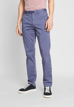 DENTON FLEX - Pantalones chinos - blue
