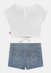 Levi's® - TIE FRONT SET - Print T-shirt - white - 1