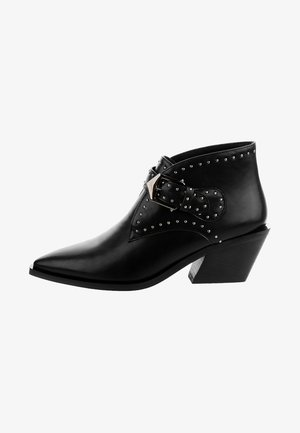 PADULLE - Cowboy/biker ankle boot - black
