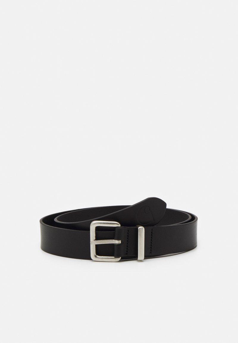 Carhartt WIP - LOGO BELT - Belt - black/silver-coloured