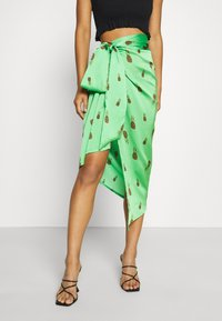 Never Fully Dressed - SUMMER RAINBOW JASPRE - Wrap skirt - green - 6