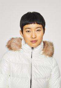 Calvin Klein - ESSENTIAL REAL COAT - Down coat - snow white - 5
