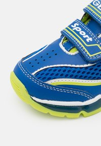 Geox - BOY - Trainers - royal/lime - 5