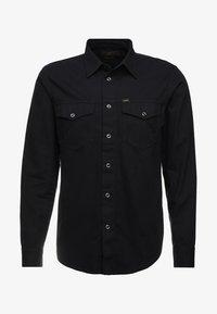 WORKER WESTERN - Shirt - black
