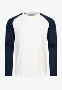 Jack & Jones - MIT RAGLANÄRMELN  - Long sleeved top - white - 4