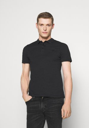 MUSCLE FIT - Koszulka polo - black