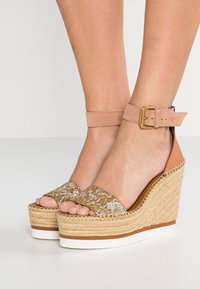 See by Chloé - High heeled sandals - gold - 0