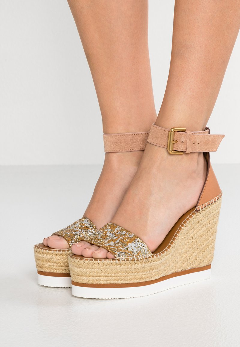 See by Chloé - High heeled sandals - gold