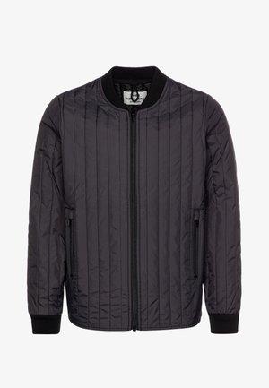 QUILT JANUNO - Light jacket - obsidian