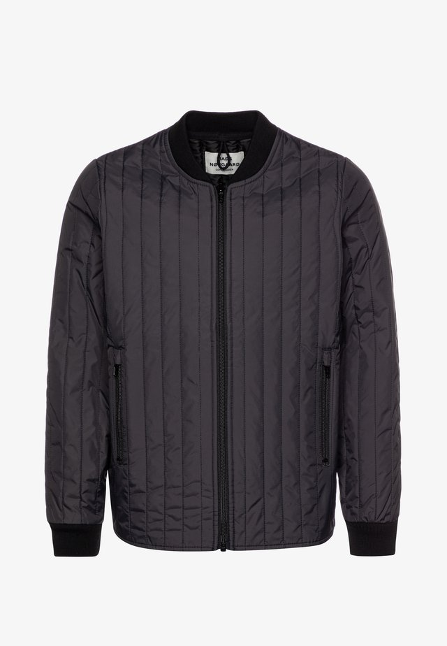 QUILT JANUNO - Light jacket - obsidian