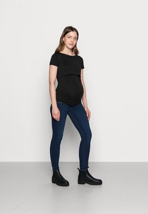 NURSING 2er PACK - Basic T-shirt - T-shirts basic - dark blue/black