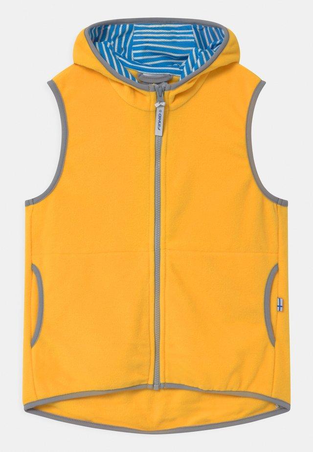 POPPELI UNISEX - Bodywarmer - yellow/storm