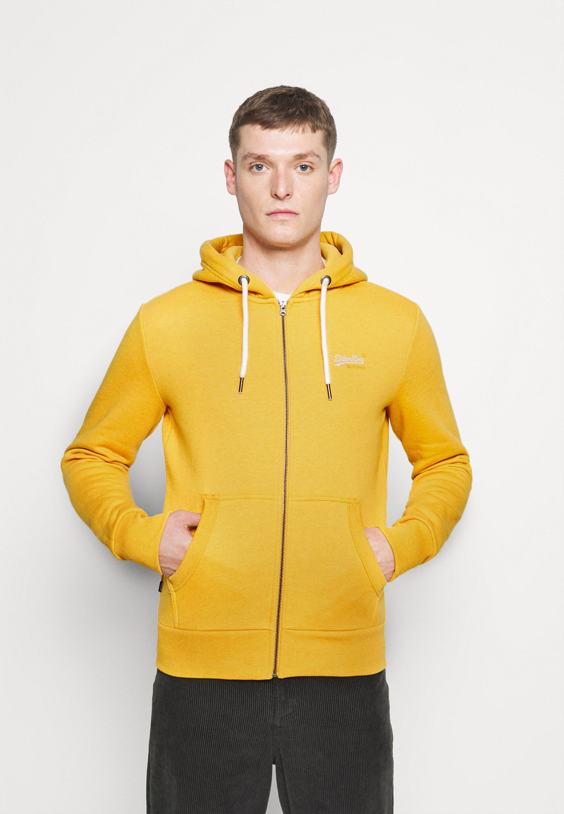 Homme ORANGE LABEL - Sweat à capuche zippé - upstate gold