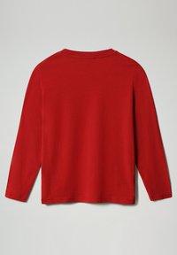 Napapijri - SADYR LS - Long sleeved top - old red - 1