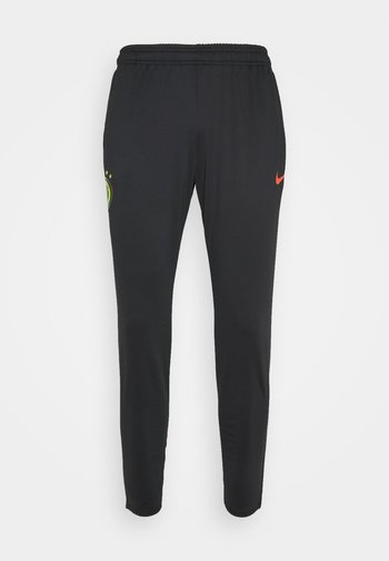 FC PANT - Træningsbukser - black/iridescent/habanero red