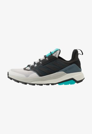 adidas TERREX TRAILMAKER WANDERSCHUHE - Chaussures de marche - grey two/core black/hi res aqua