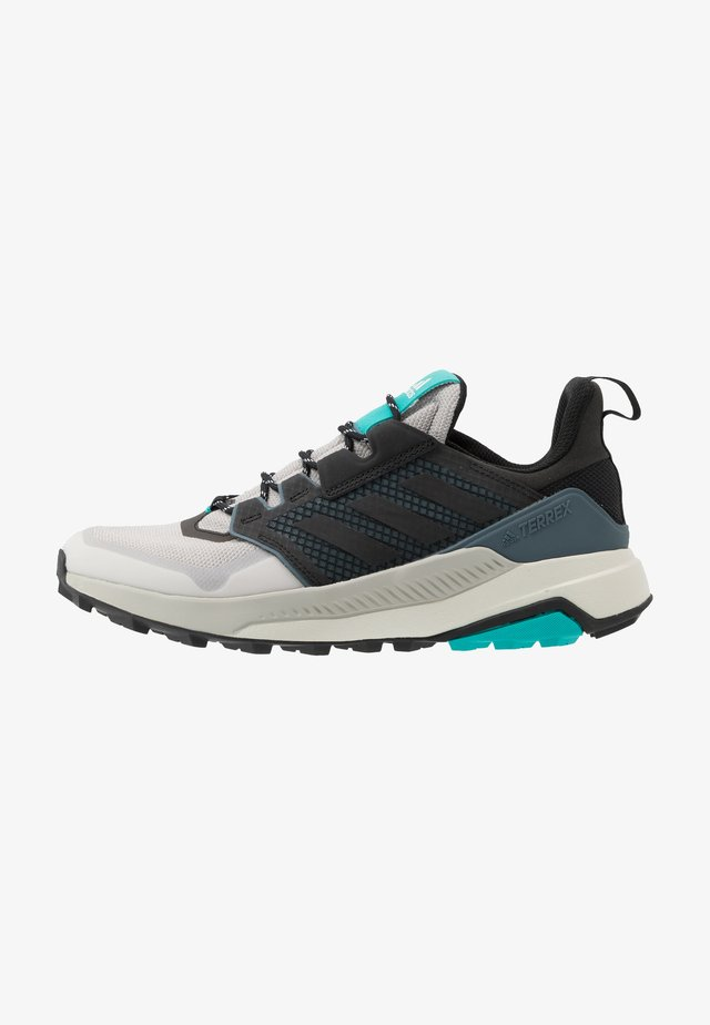 adidas TERREX TRAILMAKER WANDERSCHUHE - Hiking shoes - grey two/core black/hi res aqua
