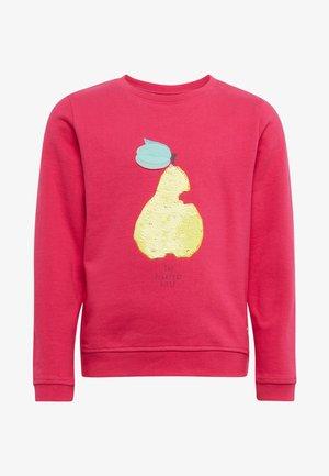 Sweatshirt - pink peacock|rose