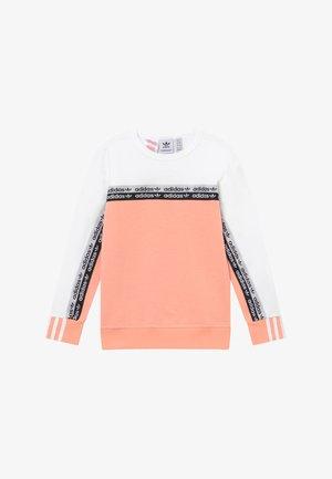 CREW - Sweatshirt - pink/white