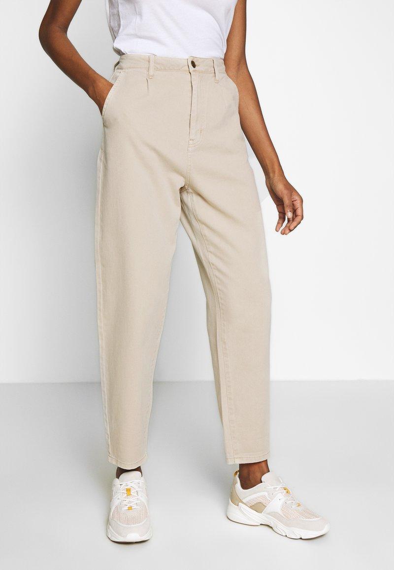 edc by Esprit - BARREL LEG UTIL - Spodnie materiałowe - sand