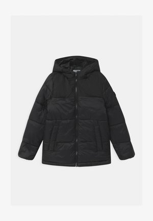 JJDREW PUFFER HOOD - Winter jacket - black