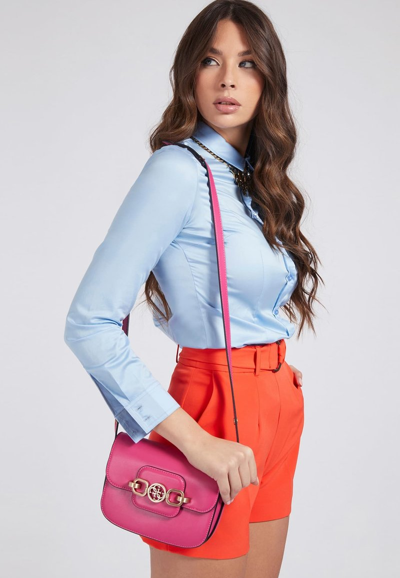 Guess - HENSELY - Handbag - fuchsia