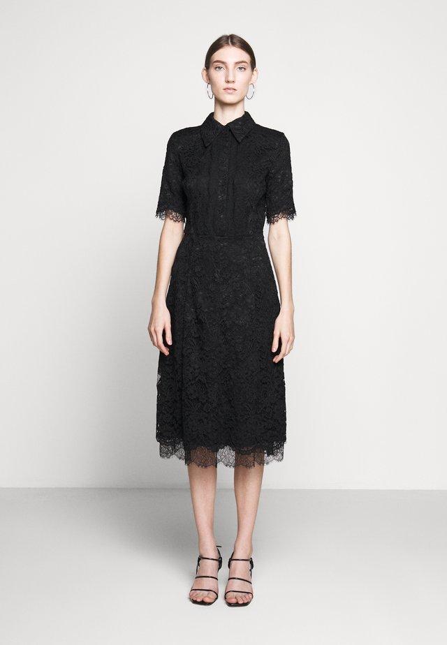 Vestido camisero - nero