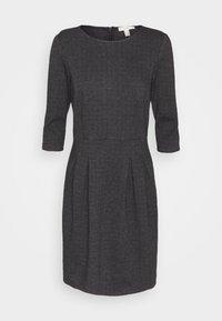 Esprit - JAQUARD DRESS - Jersey dress - anthracite - 0
