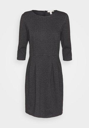JAQUARD DRESS - Jerseykjole - anthracite