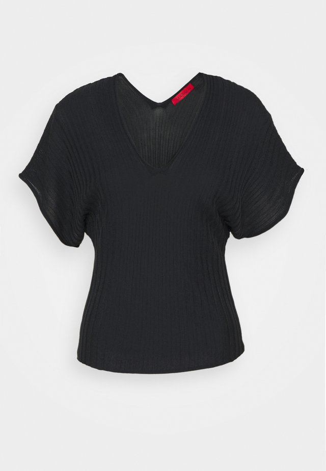 PROFILO - T-shirts basic - navy blue