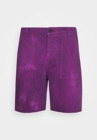 JJITONY JJUTILITY  - Denim shorts - sunset purple