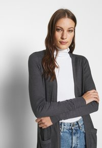 Abercrombie & Fitch - COZY DUSTER - Cardigan - black - 3