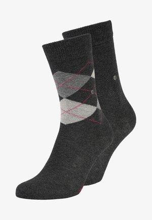 2 PACK - Socks - anthracite melange